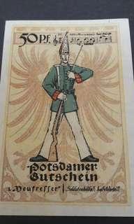 50 Pfrenniq 1921