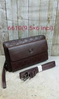 Men clutch with sling