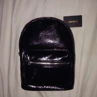 Forever 21 Mini Leather Backpack