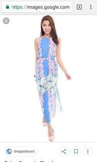 Mds flora maxi dress