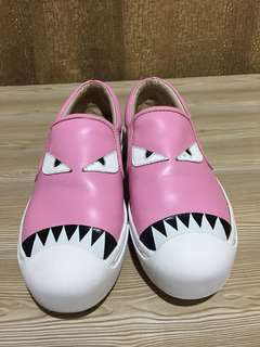 Guaranteed authentic Fendi Monster Shoes