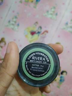 Rivera cover foundation misty green
