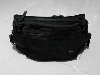 PORTER / HEAT WAIST BAG (2-way) BLACK