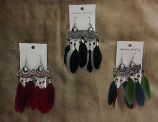 Feather Styled Earrings