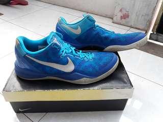 Sepatu Basket kobe 8 system blue