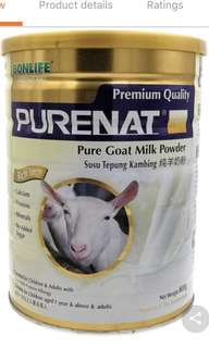 BONLIFE PURENAT GOATS MILK POWDER