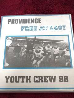 "Providence / Free At Last split ""7 Youth Crew 98"