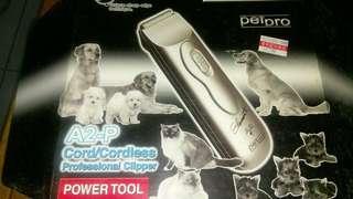 🚚 寵物用蓄電式電剪(陶瓷刀頭)