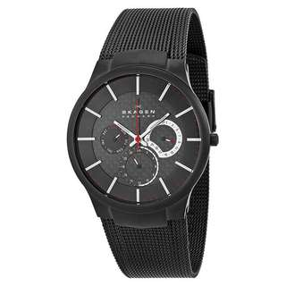 BLACK TITANIUM MULTIFUNCTION MEN'S WATCH 809XLTBB