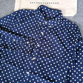 rageblue polkadot shirt