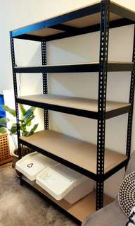 INDUSTRIAL CONCEPT RACKING/OFFICE RACKING/STORAGE CUSTOM COLOR BLACK