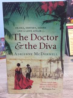 The doctor and the diva, english novel