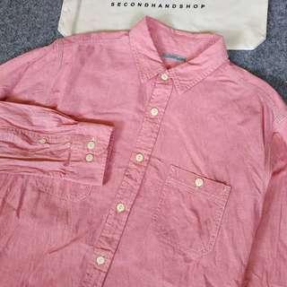 g.u by uniqlo chambray shirt