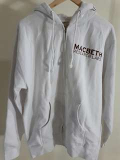 Macbeth jacket electric shock zip hood
