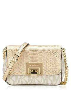 MICHAEL KORS Tina Signature Small Clutch
