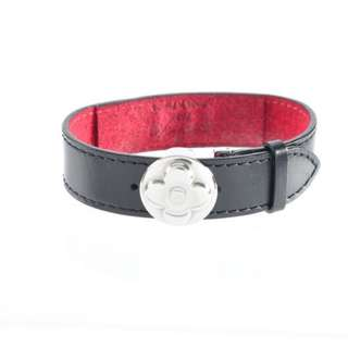 "AUTHENTIC LOUIS VUITTON ""WISH"" BRACELET IN LEATHER"