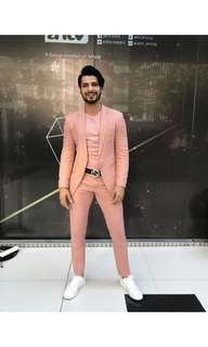 Formal Suit in Pink