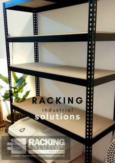 RACKING/BOLTLESS FOR DECORATION AND STORAGE (BLACK COLOR)
