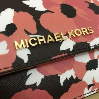 Authentic Michael Kors Spring Card Case