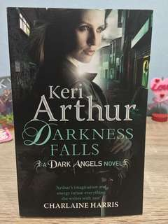 Darkness falls by keri arthur, english novels