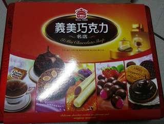 義美巧克力禮盒