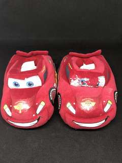 Cars Lightning McQueen bedroom slippers