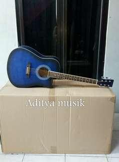 Gitar acoustik elektrik vielle