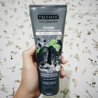 Freeman Mask [charcoal+black sugar]