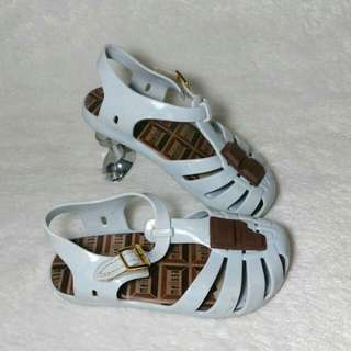Sandal Anak mini melissa chocolate
