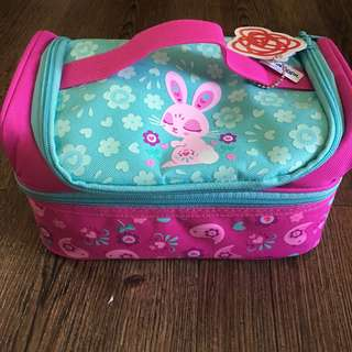 Smiggle Double Decker Lunchbox Bunny