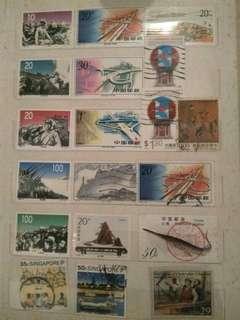 高收藏值 中國海外 郵票 : B