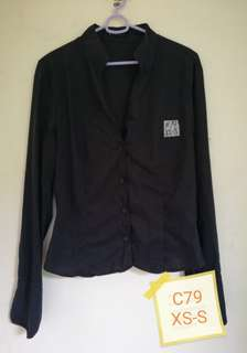 Black sleeve polo
