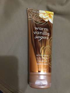 Bath & Body Works Warm Vanilla Sugar Ultra Shea Body Cream 226g