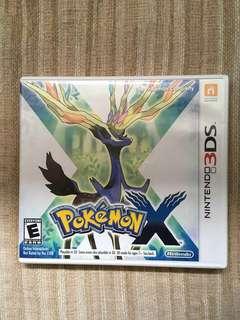3DS Game Pokemon X