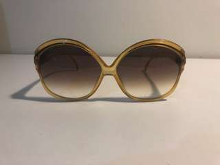 VINTAGE CHRISTIAN DIOR OVERSIZED SUNGLASSES