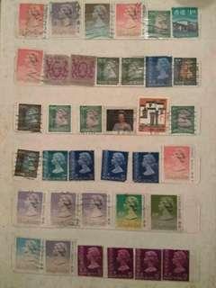 高收藏值 本港 中國海外 郵票 : E