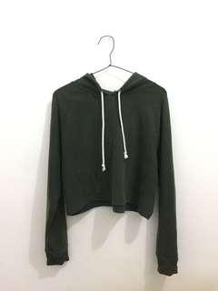 H&M army hoodie