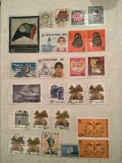高收藏值 本港 中國海外 郵票 : G