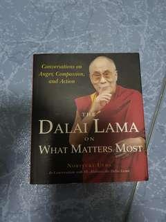 Dalai Lama on What matter most