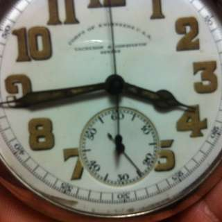 Vacheron Constantine Corp of Engineers Chrono Pocket Watch