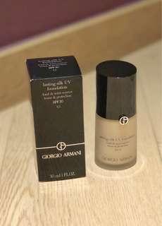 Giorgio Armani Lasting Silk UV Foundation SPF20 粉底 4.5