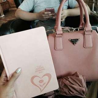 Cute pink prada inspired bag (Perf for girly outfits)