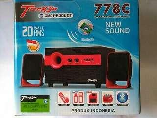 Speaker bluetooth tekyo 778c