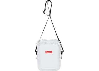 Supreme FW17 shoulder bag white