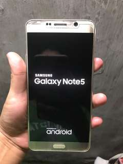 note 5 gold