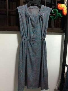 Vintage Midi Dress