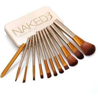 Naked Make Up Brushes Set