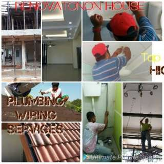 Plumber & wiring services. Ubahsuai umah. Kajang putrajaya