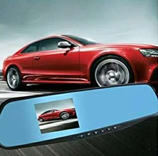 Car Rear Mirror 1080p Dash Camera