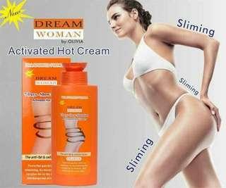 dream woman hot cream lotion